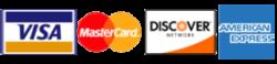 Pilla - Accepts Major credit cards